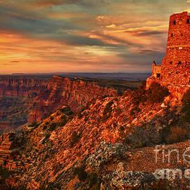 Watchtower Sunset by Priscilla Burgers