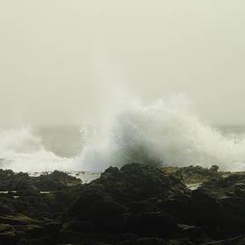 Jeff Swan - WATER BREAKING ON THE ROCKS