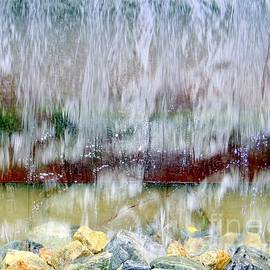 Ed Weidman - Water Fountain Abstract 9