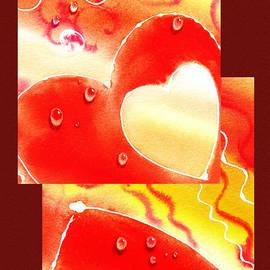 Irina Sztukowski - Water On Color Collage Two
