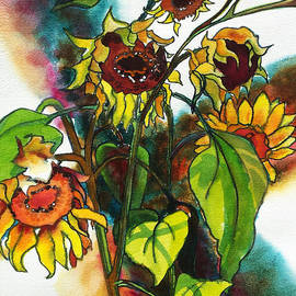Kathy Braud - Sunflowers on the Rise