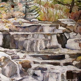 Kathryn Rose - Waterfall in the Gardens