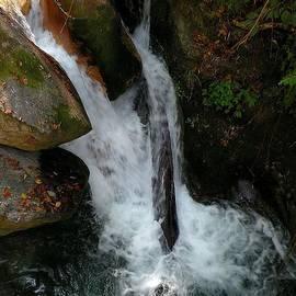 Waterfall at Sangam Chatti - Himlayas India by Kim Bemis