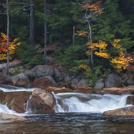 Jean-Pierre Ducondi - Waterfall - White Mountains - New Hampshire