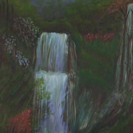 Waterfalls of Kindness and Compassion by Leona Borge