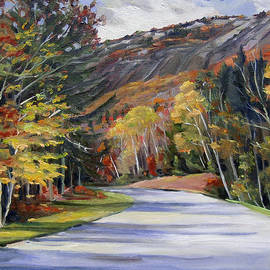 Waterville Road New Hampshire by Nancy Griswold
