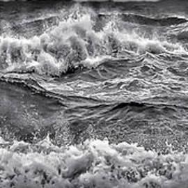 Waves Off the Gulf by Walt Foegelle