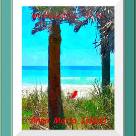We Saved A Place For You - Digitally Framed by Susan Molnar