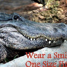 Kathy  White - Wear A Smile/Smiling Alligator