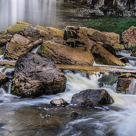 Webster Falls by Garvin Hunter