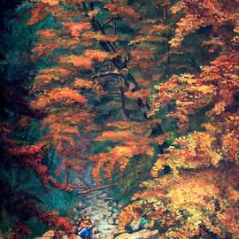 Webster's Falls by Hanne Lore Koehler
