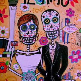 Pristine Cartera Turkus - Wedding In Vegas Dia De Los Muertos