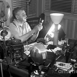 Weegee Working 1949 by Martin Konopacki Restoration