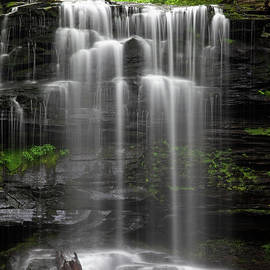 While My Waterfall Gently Weeps by John Stephens