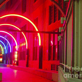 West End Archway In Dallas by Pamela Smale Williams