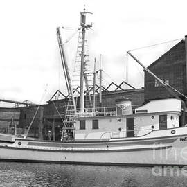 Western Flyer purse seiner Tacoma Washington State March 1937 by California Views Archives Mr Pat Hathaway Archives