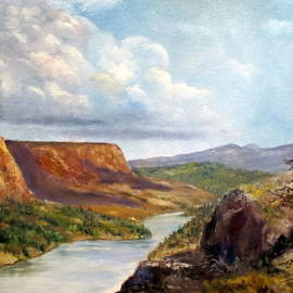 Lee Piper - Western River Canyon