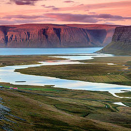 Westfjords evening by Alexey Stiop