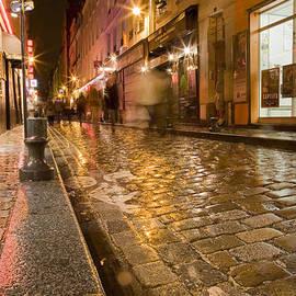 Matthew Bamberg - Wet Paris Street