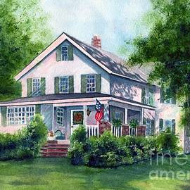 Janine Riley - White country farmhouse