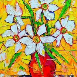 White Daffodils  by Ana Maria Edulescu