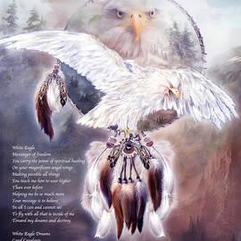White Eagle Dreams w/prose by Carol Cavalaris