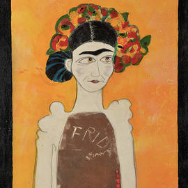 White Frida by Jennie Cooley