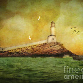 Lianne Schneider - White Island Light - Isles of Shoals