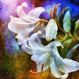 White Lily - colorful edition by Lilia D