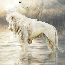Carol Cavalaris - White Lion - Reflection Of Light