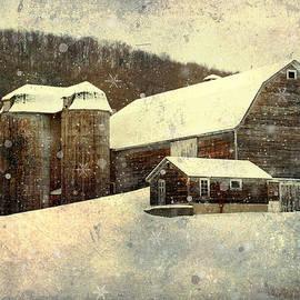 Christina Rollo - White Winter Barn