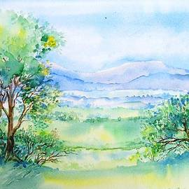 Wicklow Landscape in Summer by Trudi Doyle