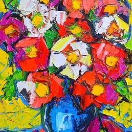 ANA MARIA EDULESCU - WILD COLORFUL FLOWERS