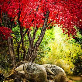 Wild Turkeys  by Ludmila Nayvelt