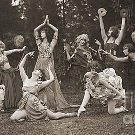 Wild Women Dance 1924 by Padre Art
