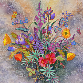 Wildflowers of Alaska II by Teresa Ascone