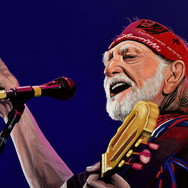 Willie Nelson by Paul Meijering