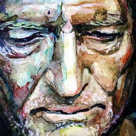 Laur Iduc - Willie Nelson  portrait