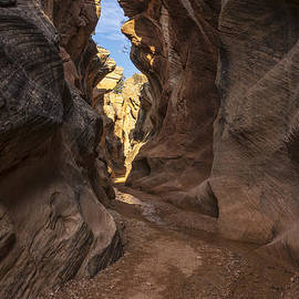Willis Creek Slot Canyon 3 - Grand Staircase Escalante National Monument Utah by Brian Harig