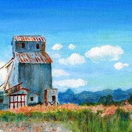 Willow Creek Grain Elevator II by C Sitton