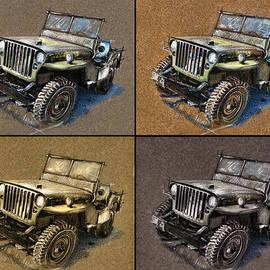 Daliana Pacuraru - Willys Jeep MB Car drawing