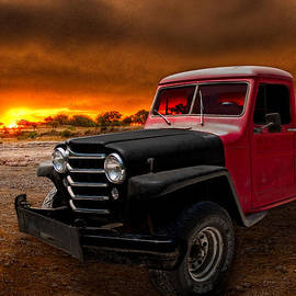 Willys Jeep Pickup Rat Rod by Chas Sinklier