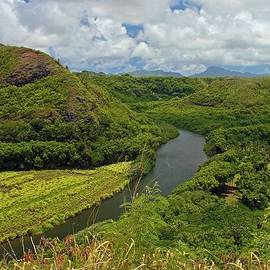 Winding Kauai River by Stephanie Hanson