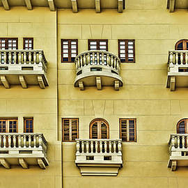 Windows and Balconies by Maria Coulson