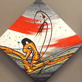 Windsurfer Triptych by Darren Robinson