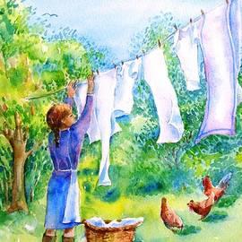 Trudi Doyle - Windy Day Clothesline