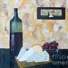 JoNeL Art - Wine and Cheese Hour