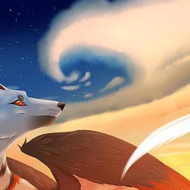 Nicole La Placa - Winged wolf