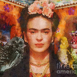 Wings of Frida by Mo T