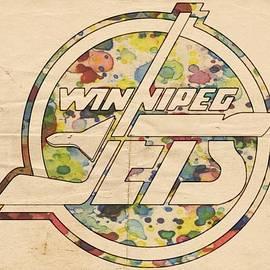 Winnipeg Jets Hockey Art by Florian Rodarte